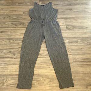 Gap Sleeveless Gray Jumpsuit, Medium